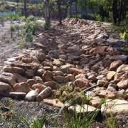 rock-lined drain, Yarabilba