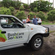 bushcare services vehicles
