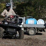 quad bike spray unit