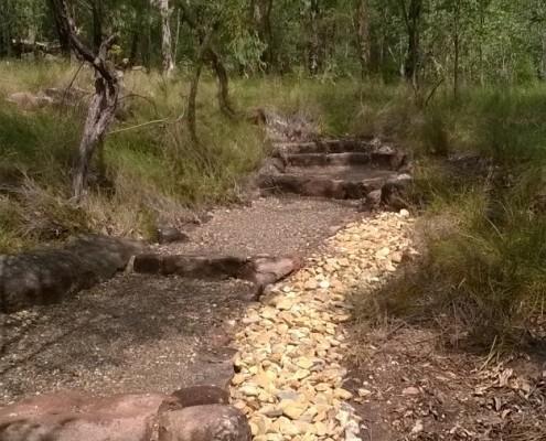 trail drainage alignment